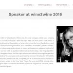 Is digital innovation right for wine? Check out our founder and CEO's presentation at VinItaly's Wine2Wine and decide for yourself