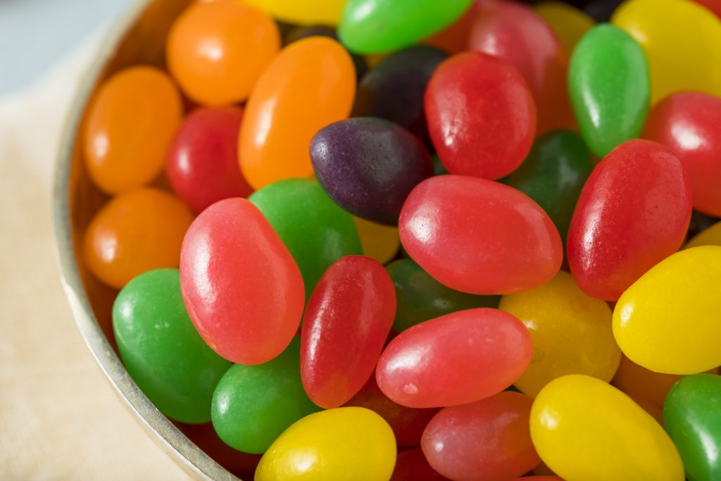 Jelly beans and solid data